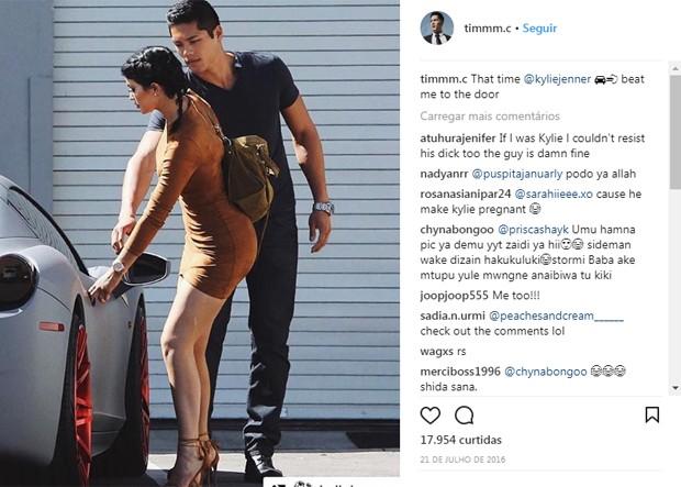 Tim Chung e Kylie Jenner (Foto: Reprodução/Instagram)