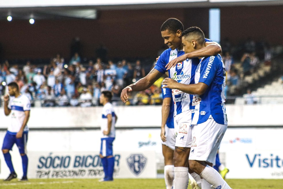 Paysandu vem crescendo, mas precisa vencer e secar rivais para entrar no G-4 — Foto: Jorge Luiz/Ascom Paysandu