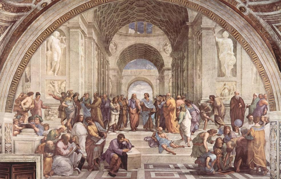 Filosofia antiga no ENEM: dos pré-socráticos aos helenistas — Foto: Divulgação