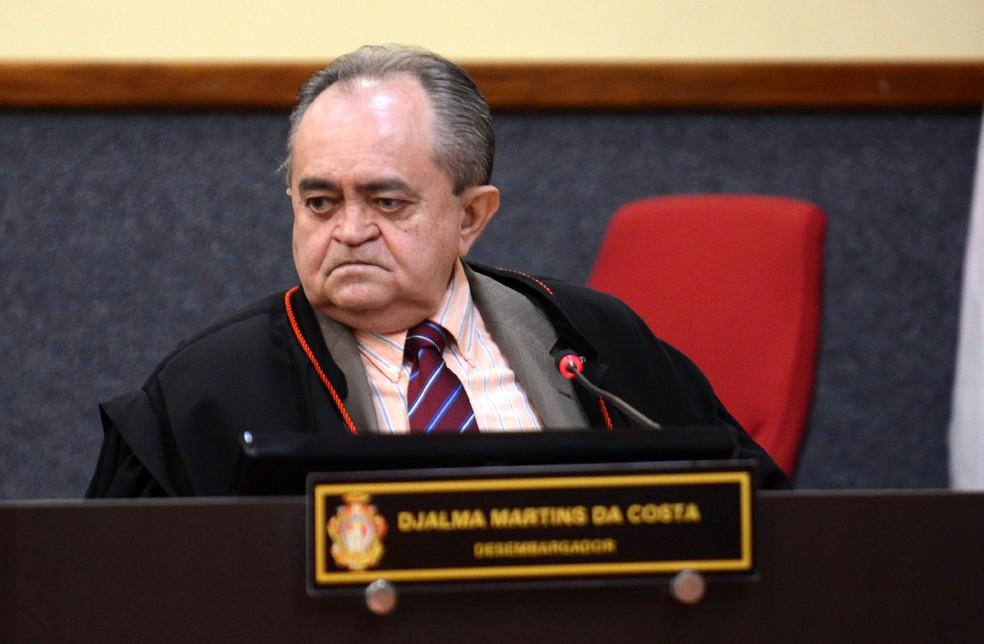 Desembargador Djalma Martins da Costa morre vítima da Covid em Manaus. — Foto: Divulgação/TJAM