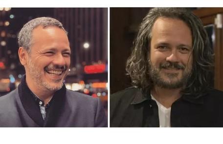 Danton Mello também aparecerá de cabelos compridos na nova novela das 21h Reprodução