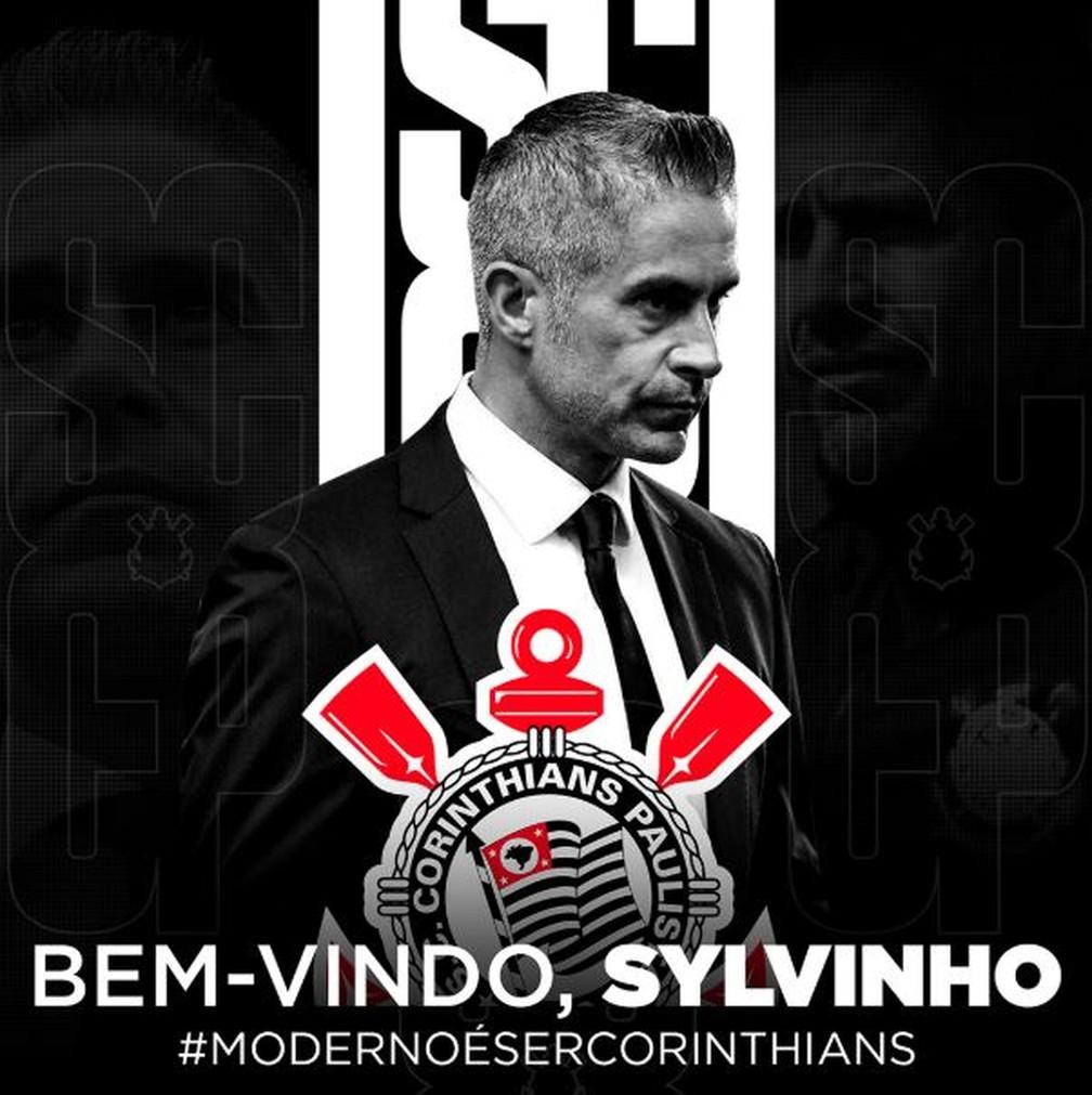 Corinthians anuncia a contratação de Sylvinho | corinthians | ge