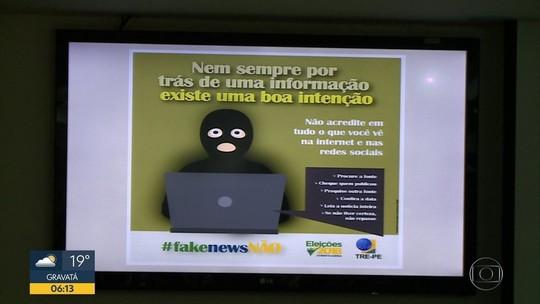 TRE-PE lança ofensiva contra notícias falsas no período eleitoral