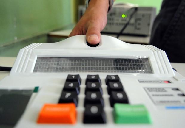 Biometria  (Foto: Wilson Dias/Agência Brasil)