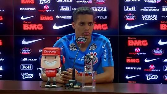 Pedrinho ignora torcida por Flamengo e diz que Corinthians depende de si por Libertadores