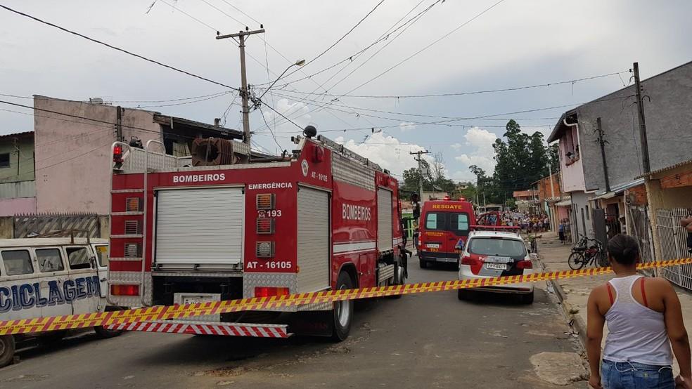 Homem morreu após explosão de rede de alta tensão em Capivari em 2018 — Foto: Tonny Machado/Raízes FM
