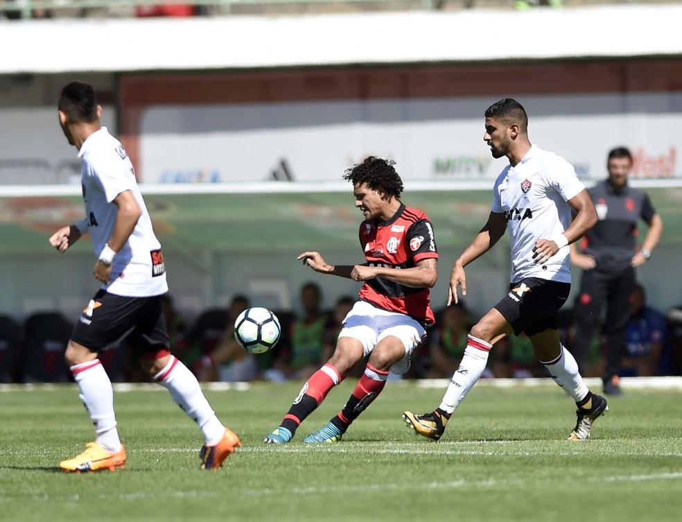 Flamengo x Vitória (Foto: André Durão/GloboEsporte.com)