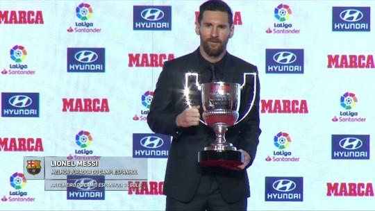 """Barcelona põe Messi """"à caça de Pelé"""" por recorde de gols em jogos oficiais por um clube"""