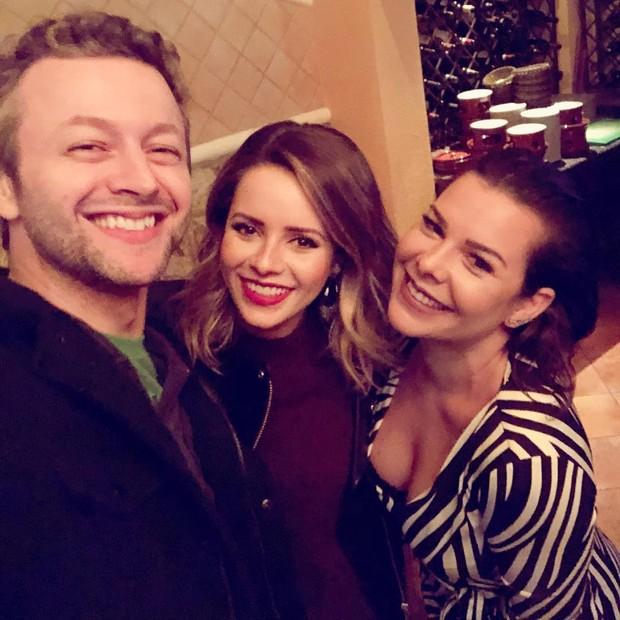 Lucas Lima, Sandy e Fernanda Souza (Foto: Reprodução/Instagram)