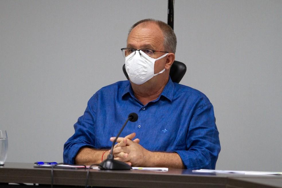 Belivaldo Chagas (PSD), governador de Sergipe — Foto: Arthuro Paganine/Governo de Sergipe/Divulgação