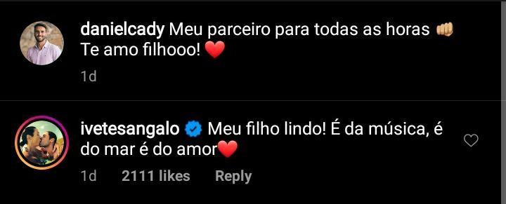 Ivete Sangalo baba pelo filho (Foto: Reprodução/Instagram)