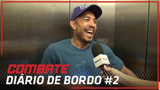 Diário de Bordo#2: José Aldo chega ao hotel para o embate do UFC Rio