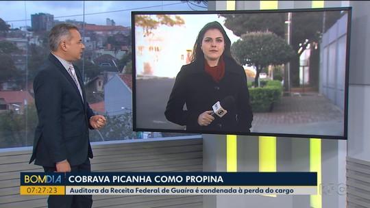 Ex-auditora da Receita Federal é condenada a mais de 4 anos de prisão por exigir 140 kg de picanha, em Guaíra
