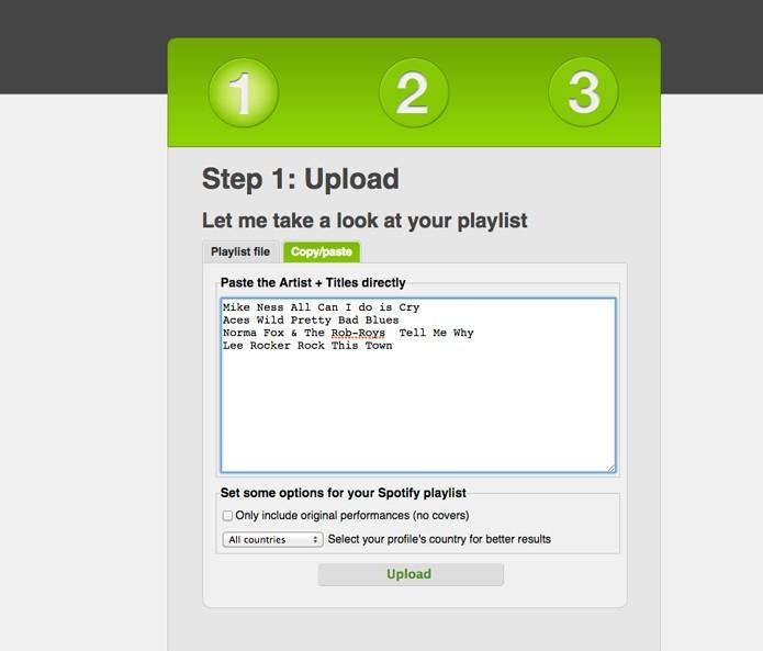 Spotify Playlist To Text