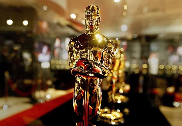 O Oscar, cobiçada estatueta que premia os melhores do cinema segundo a Academia de Artes e Ciências Cinematográficas dos Estados Unidos (Foto: Carlo Allegri/Getty Images)