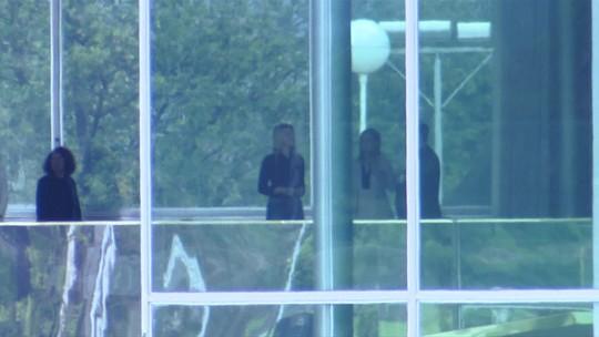 Marcela Temer e Michelle Bolsonaro se reúnem em Brasília