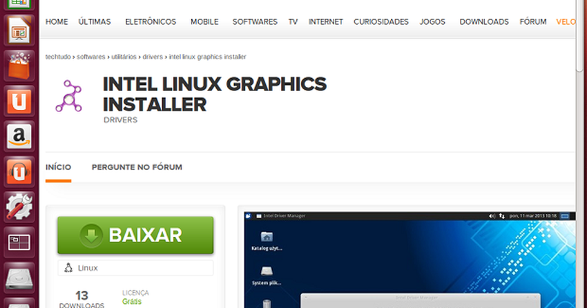 Como instalar driver de video no Linux com o Intel Graphics