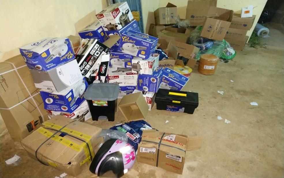 A mercadoria estava avaliada em R$ 178 mil (Foto: PMSE/Divulgação)