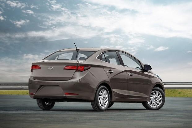 Projeção Novo Hyundai HB20S 1.0 turbo (Foto: João Kleber do Amaral/Autoesporte)