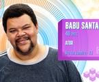 Babu Santana estará no 'BBB' 20 | TV Globo