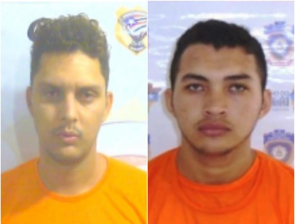 Victor Lucci (à direita) e Ildomarques Lopes (à direita) fugiram da UPSL 5 nesta quarta-feira (19) — Foto: Divulgação