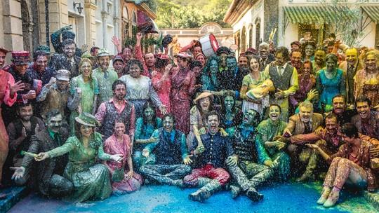 Chuva de tinta em 'Orgulho e Paixão' marca cena final da novela; veja fotos exclusivas