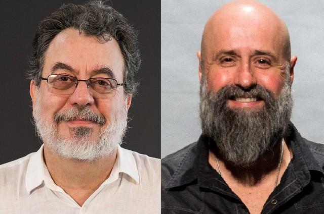 Jorge Furtado e Mauro Mendonça Filho (Foto: Divulgação/TV Globo)