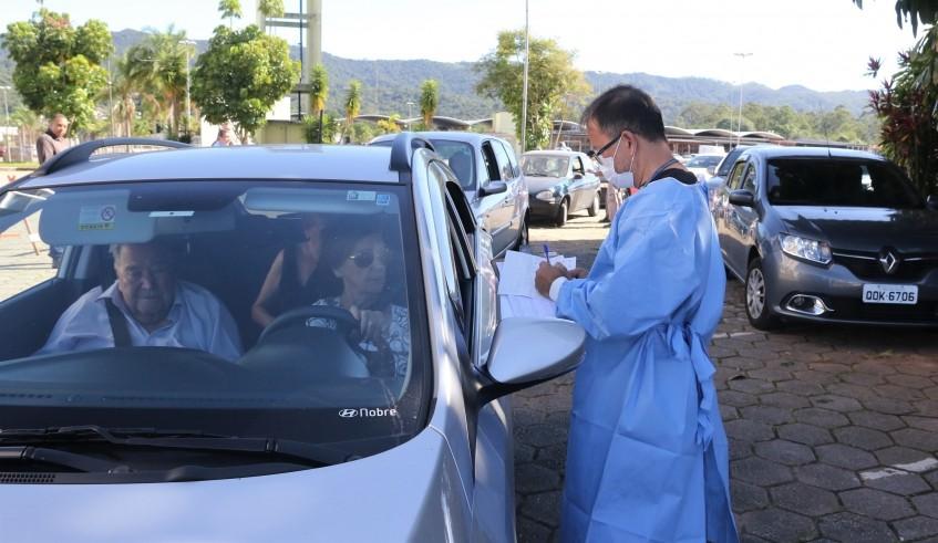 Vacinação contra a gripe é retomada nesta quarta e quinta em Mogi, Pró-Hiper tem sistema drive-thru
