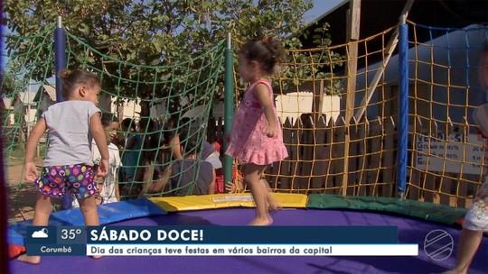 Festas em Campo Grande marcam o Dia das Crianças