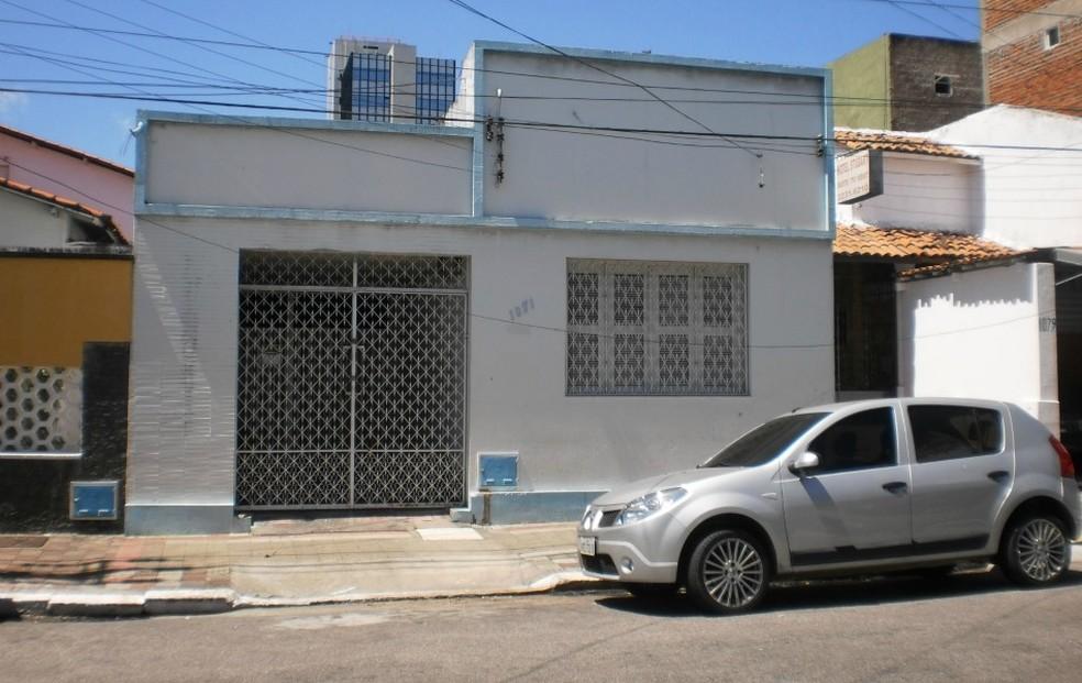 Quadrilha alugou casa no Centro de Fortaleza e escavou túnel até o cofre do Banco Central — Foto: Leonardo Heffer/G1