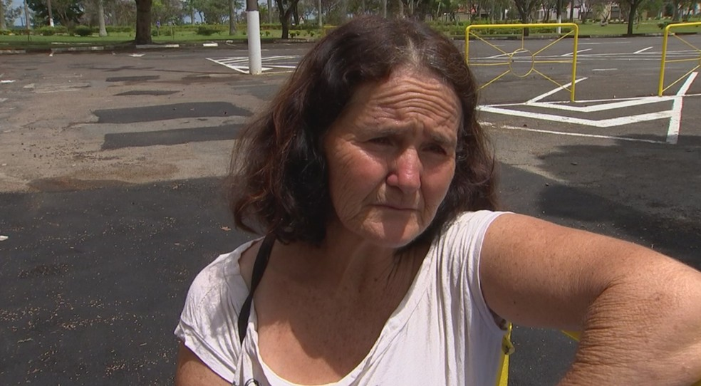 Avó afirma que chegou presenciar as cenas de agressão da neta de 5 anos, morta pelos pais em Itapetininga (Foto: Reprodução/TV TEM)
