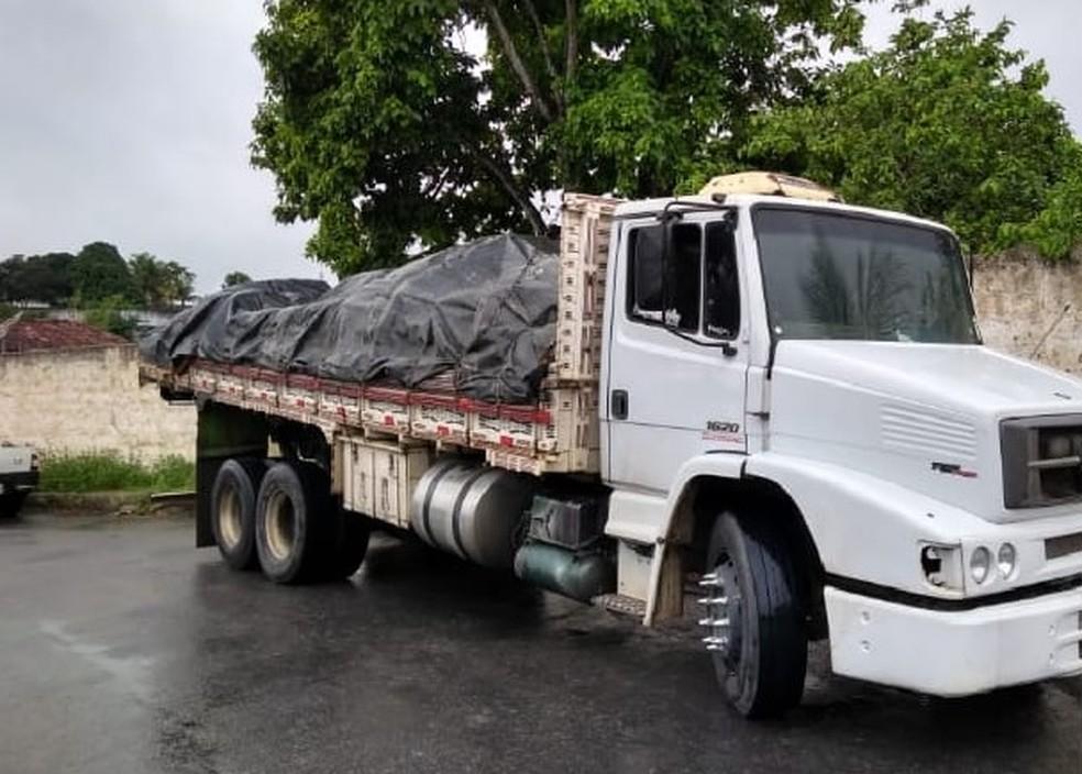 Carga foi recuperada pela polícia  — Foto: Divulgação/Polícia Civil