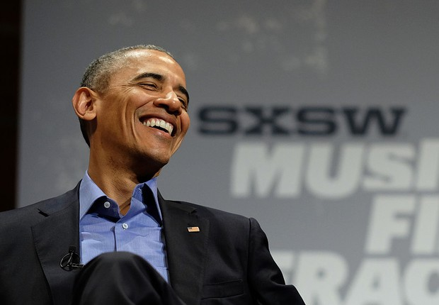 Barack Obama sorrindo (Foto: Neilson Barnard/Getty Images)