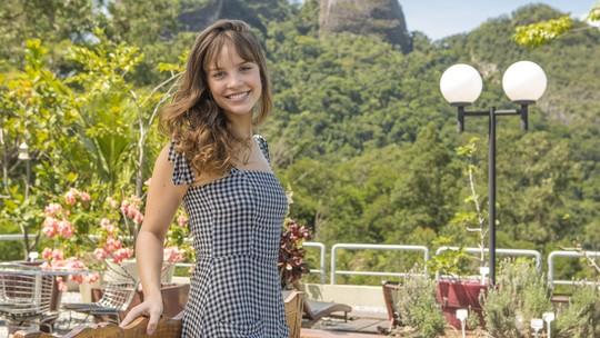 Joana Borges revela que assistia à 'Malhação' na infância e sonhava em ser atriz