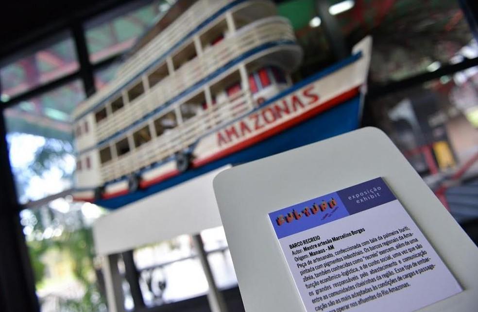 Exposição Cultura lugar de todos, em Manaus (Foto: Divulgação/SEC)