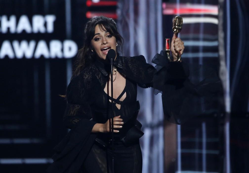 Camila Cabello é uma das premiadas do Billboard Music Awards 2018 (Foto: REUTERS/Mario Anzuoni)