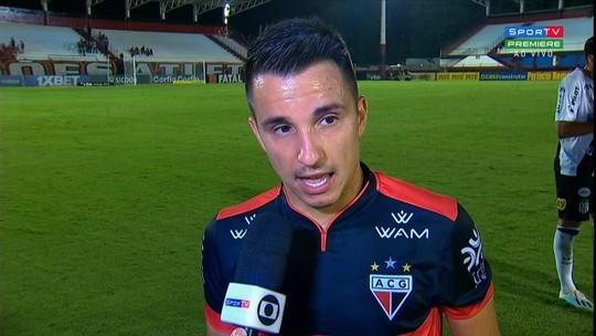 Matheuzinho tem nome gritado pela torcida e aposta em Barroca para Atlético-GO se reerguer