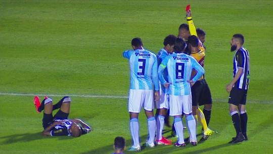 Londrina supera expulsão no início, e defesa segura empate com o Figueirense; veja as notas