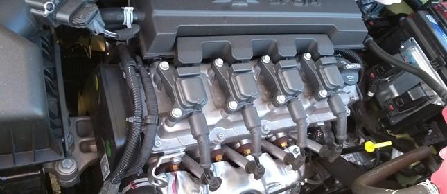 Motor da Chevrolet Spin Active7 2019