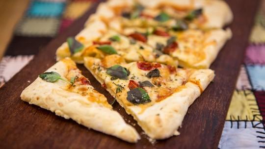 Pizza de Pão de Queijo