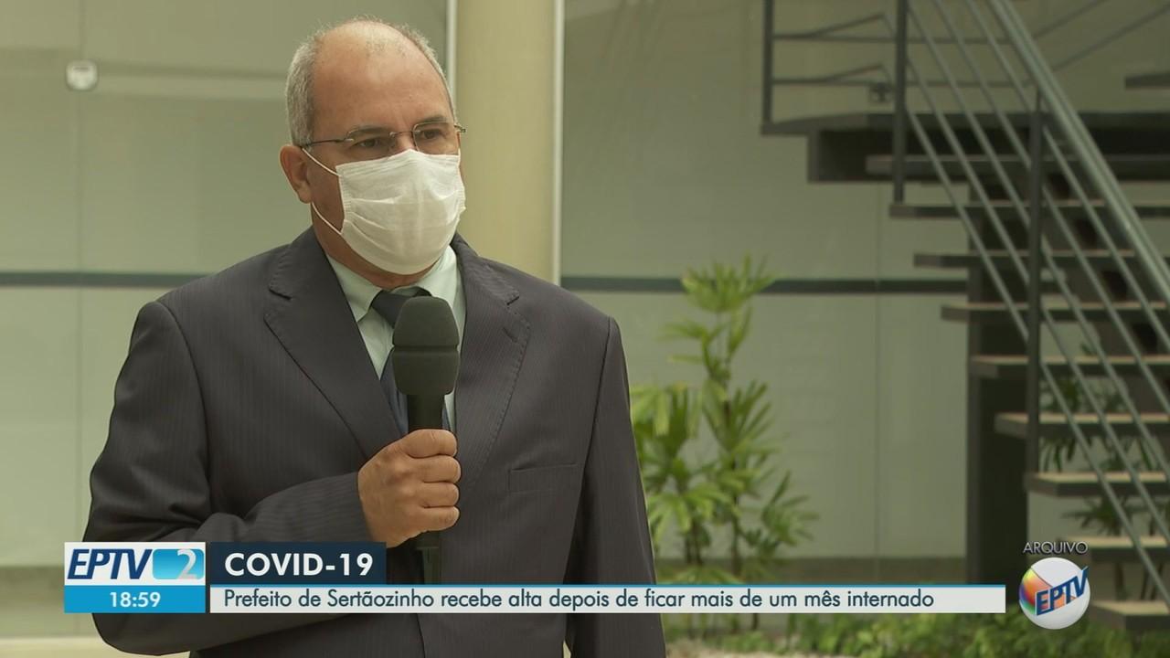 Dr. Wilsinho deixa hospital após 38 dias de internação para tratar Covid-19