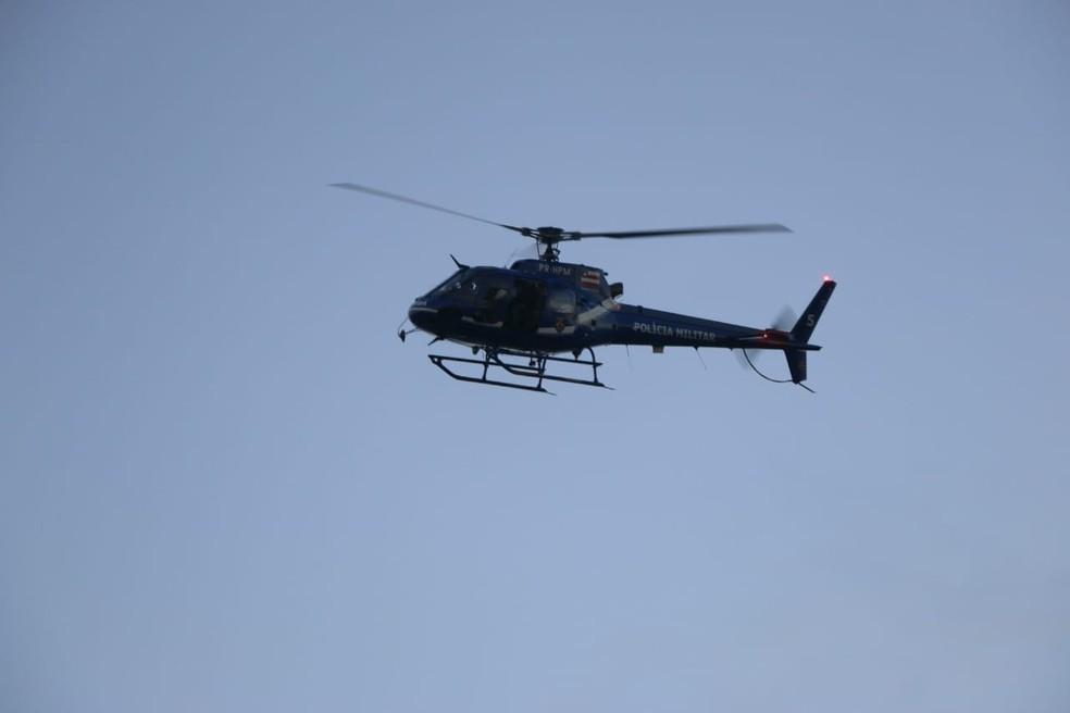 Polícias Militar e Civil atuam na operação (Foto: Alberto Maraux/SSP-BA)