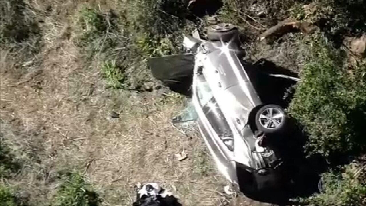 Tiger Woods sofre acidente de carro em Los Angeles