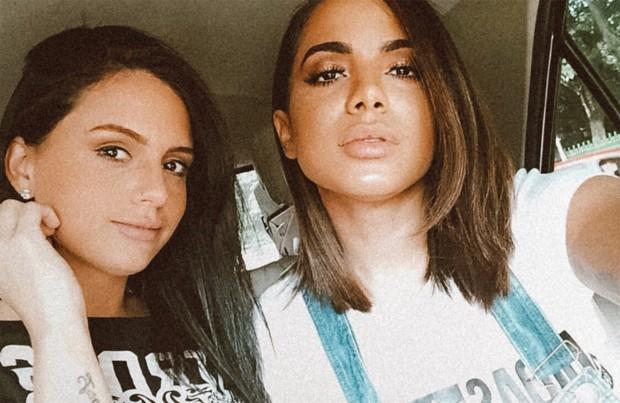Jeni Monteiro e Anitta (Foto: Reprodução/Instagram)