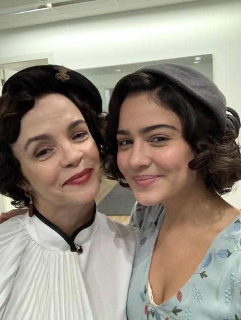 Giullia Buscacio e Luciana Braga (Foto: Divulgação)