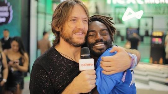 Lollapalooza 2018: André Frateschi pede para participar de clipe de Jonathan Azevedo