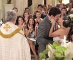 Letícia (Tania Khalill) e Juan Guilherme (Carlos Casagrande) irão finalmente se casar | Reprodução