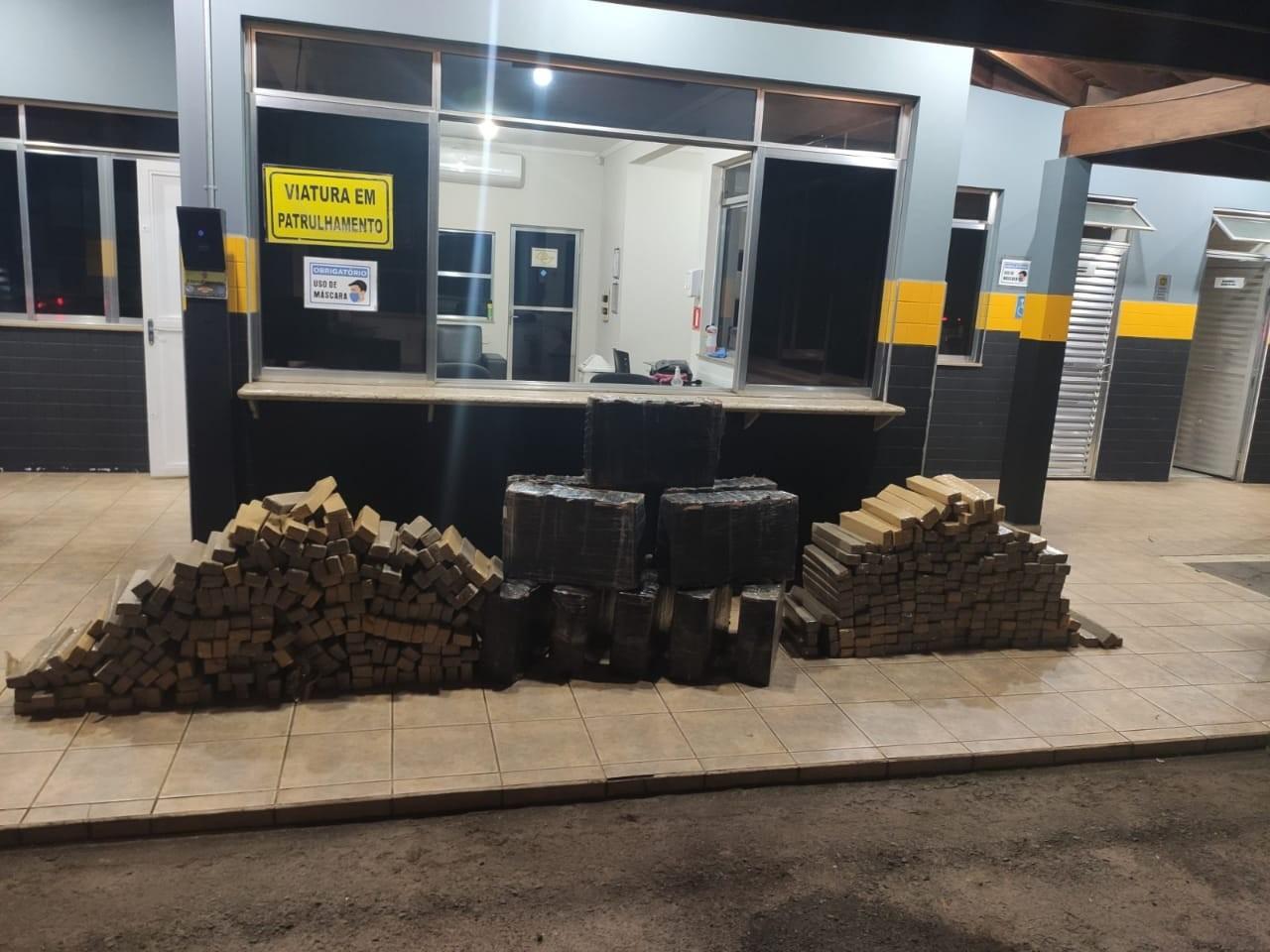 Polícia apreende mais de 600 kg de maconha em rodovia de Lençóis Paulista