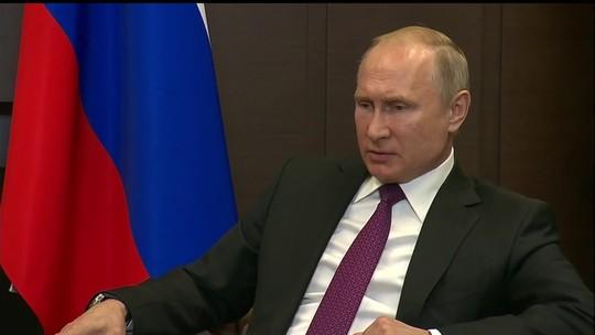 Vladimir Putin completa 20 anos à frente do poder russo
