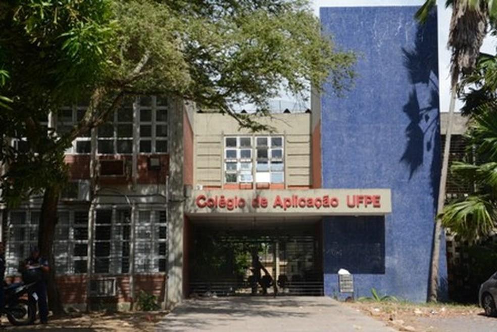 O Colégio de Aplicação do Recife (FCAP UFPE) foi premiado pelo Idepe em duas categorias nesta quinta-feira (28) (Foto: UFPE/Divulgação)